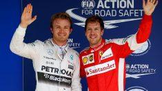 Nico Rosberg asegura que Mercedes piensa en Sebastian Vettel para la temporada 2018. (Getty)