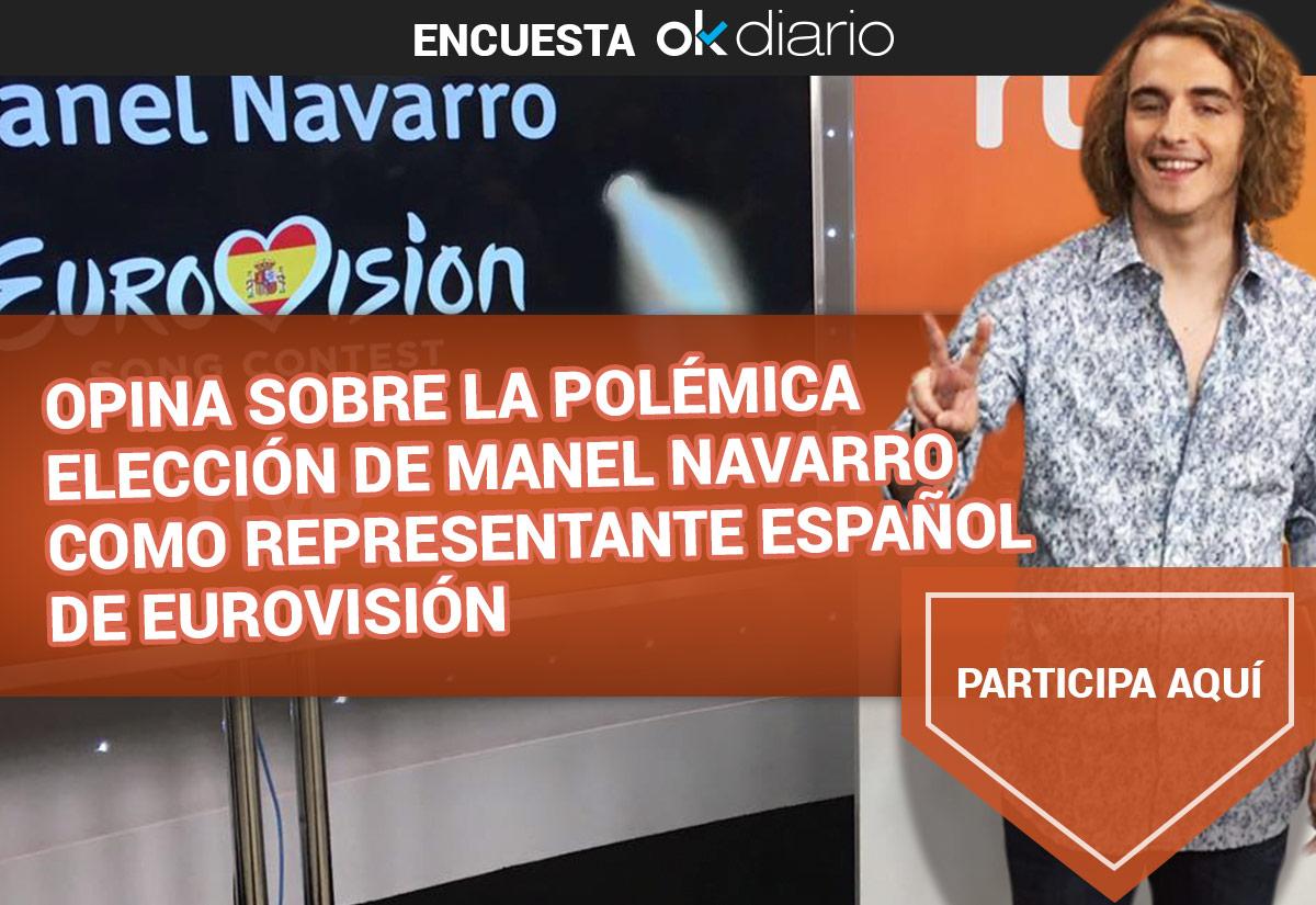 Manel Navarro: Eurovisión 2017