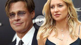 Brad Pitt y Kate Hudson.