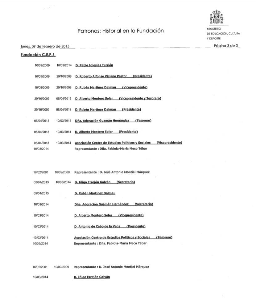 La fundación de Podemos también asesoró al nº 2 de Maduro al que EEUU acusa ahora de narcotráfico