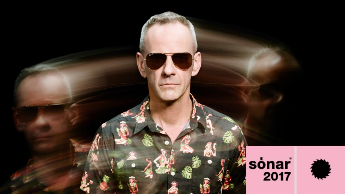 El artista británico Fatboy Slim es uno de los cabezas de cartel del 5º Sónar Reykjavíc. Foto: Sónar