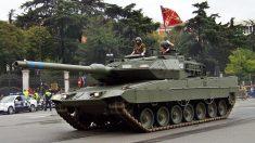 Caro de combate Leopard del ejército español.