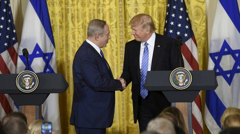 Benjamin Netanyahu y Donald Trump (Foto: AFP)