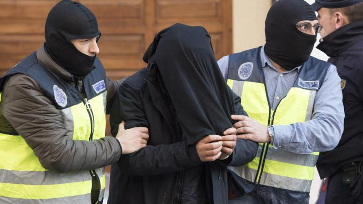 Detención de un sospechoso yihadista en Ceuta.