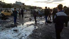 Imágenes de un reciente atentado en Bagdad (Foto: AFP).