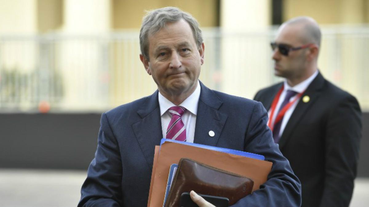 El primer ministro de Irlanda, Enda Kenny. Foto: AFP