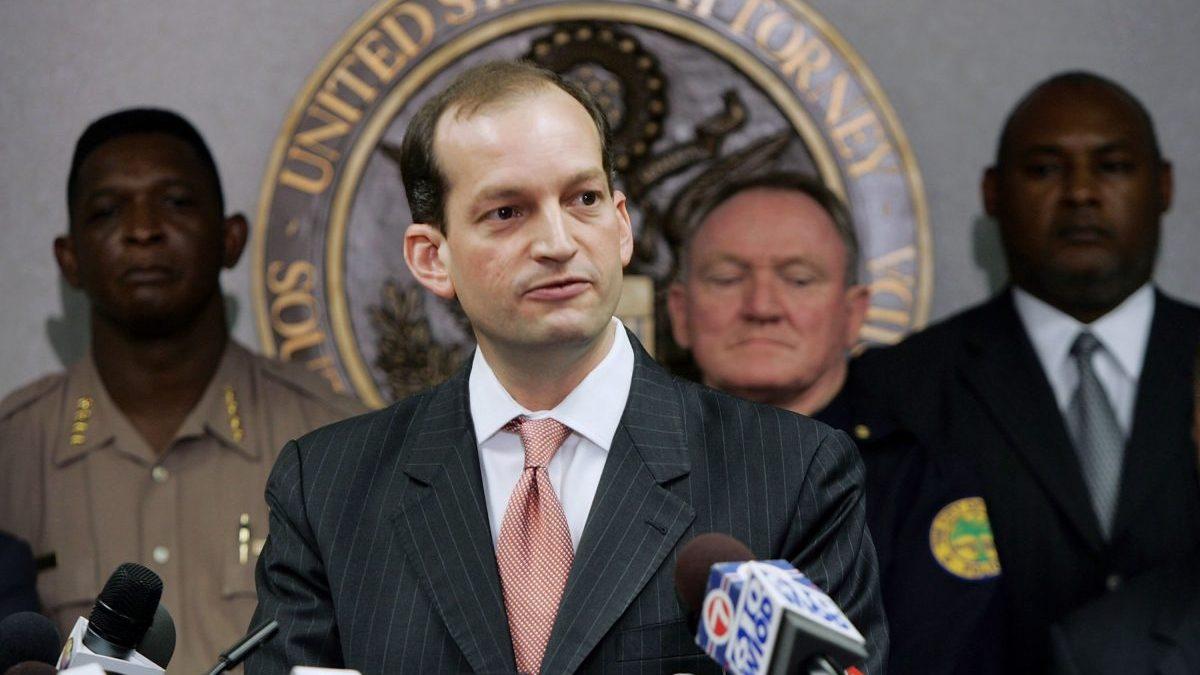 Alexander Acosta, secretario de Trabajo de EEUU propuesto por Trump (Foto: Getty)