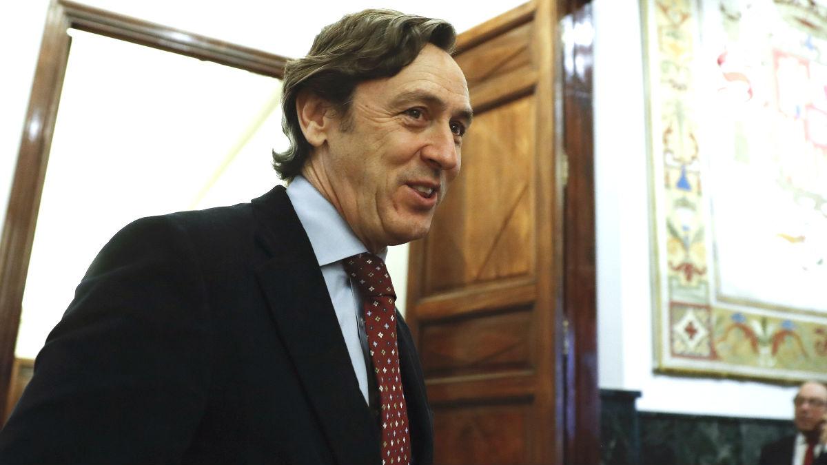 El portavoz del PP, Rafael Hernando (Foto: Efe)