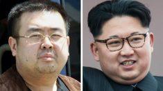 Kim Jong-nam y su hermanastro, el líder de Corea del Norte, Kim Jong-un. (Foto: AFP)