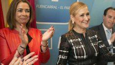 Cristina Cifuentes y Elena González-Moñux. Foto: PP de Madrid