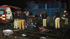 Imagen de un reciente atentado en Pakistán (Foto: AFP).