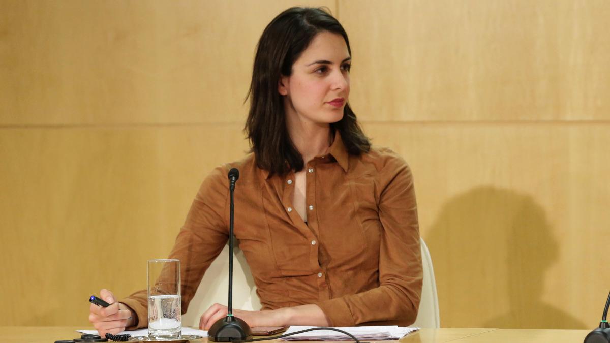 La portavoz municipal Rita Maestre en rueda de prensa. (Foto: Madrid)