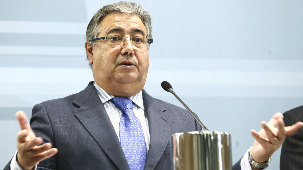 El ministro del Interior, Juan Ignacio Zoido (Foto: Efe)