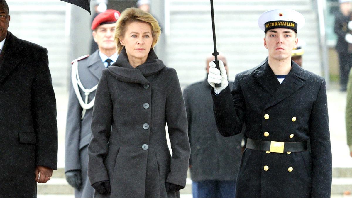 La ministra alemana de Defensa Ursula van der Leyen en una imagen de 2014 (Foto: AFP).