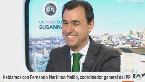 El coordinador general del PP, Fernando Martínez-Maillo (Foto: Antena 3)
