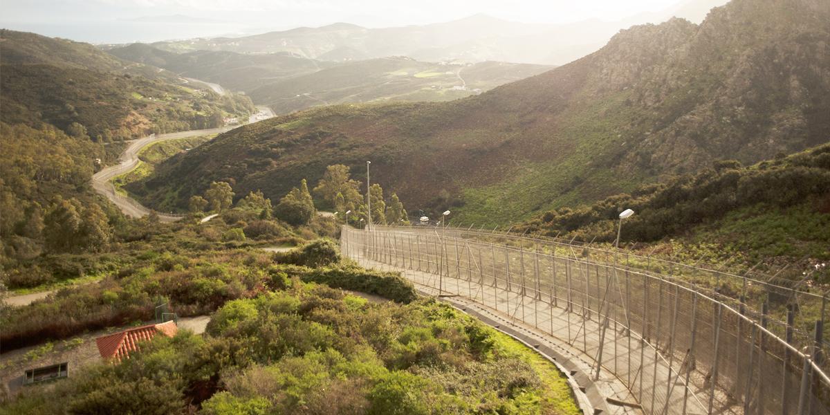 Valla de Ceuta. (Foto: AFP)