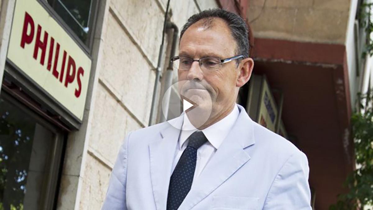 Mario Pascual Vives, abogado de Iñaki Urdangarin. (Foto: AFP)