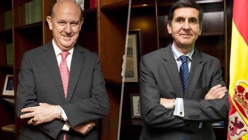 Los magistrados del Tribunal Constitucional Andrés Ollero (izquierda) y Pedro González-Trevijano (derecha).