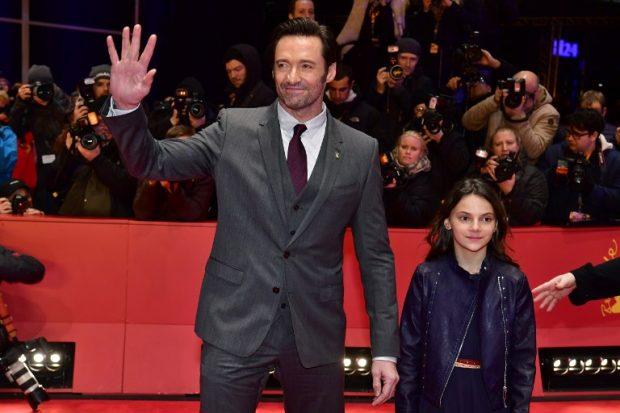 Hugh Jackman y Dafne Keen de Logan