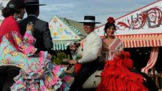La Feria de Abril se convierte en la fecha más importante del año para muchos sevillanos y sevillanas. Foto: AFP