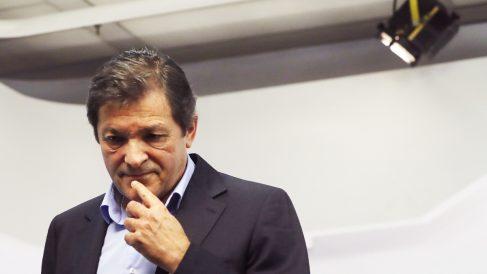 Javier Fernández, presidente de la gestora del PSOE.