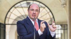 El ex presidente de Murcia Pedro Antonio Sánchez. (Foto: EFE)