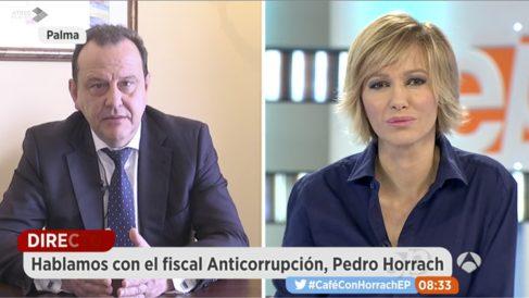 Pedro Horrach en 'Espejo Público'.