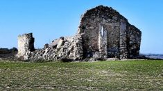 Bajo las ruinas de la cripta de la Virgen de la Muela, en Driebes (Guadalajara), se ha hallado un templo romano.