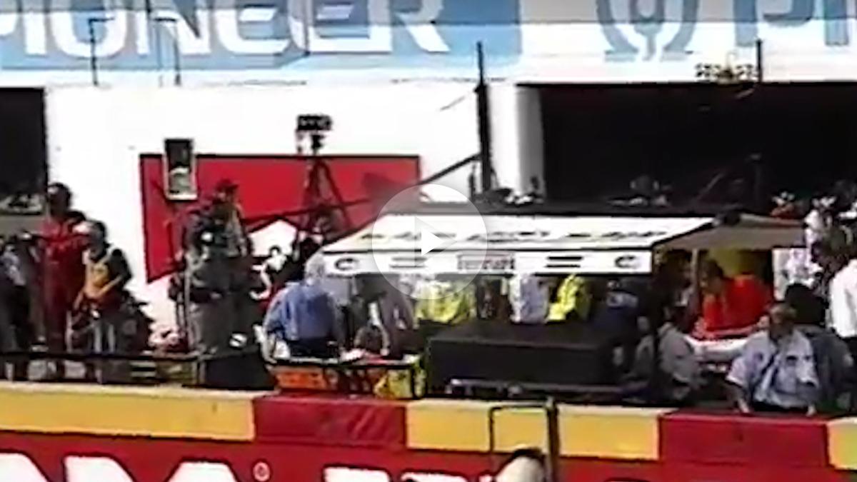 Se descubre un vídeo inédito del día del fallecimiento de Ayrton Senna.