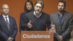 Miguel Sánchez, portavoz de C's en el Parlamento de Murcia. (Foto: EFE)