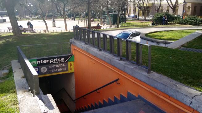 Parking de Plaza España