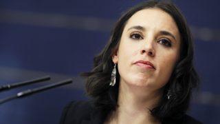 La portavoz de Podemos en el Congreso, Irene Montero. (Foto: EFE)