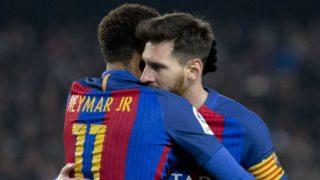 Neymar y Messi. (Foto: Getty)