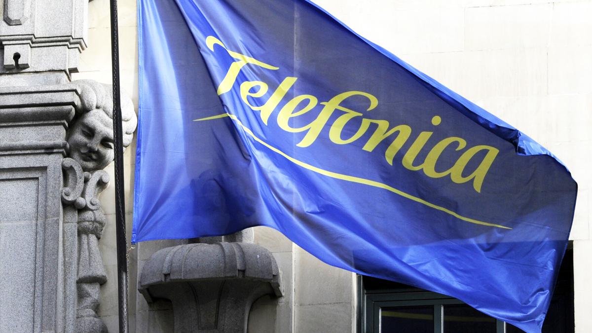 Sede de Telefónica en Gran Vía. (Foto: AFP)