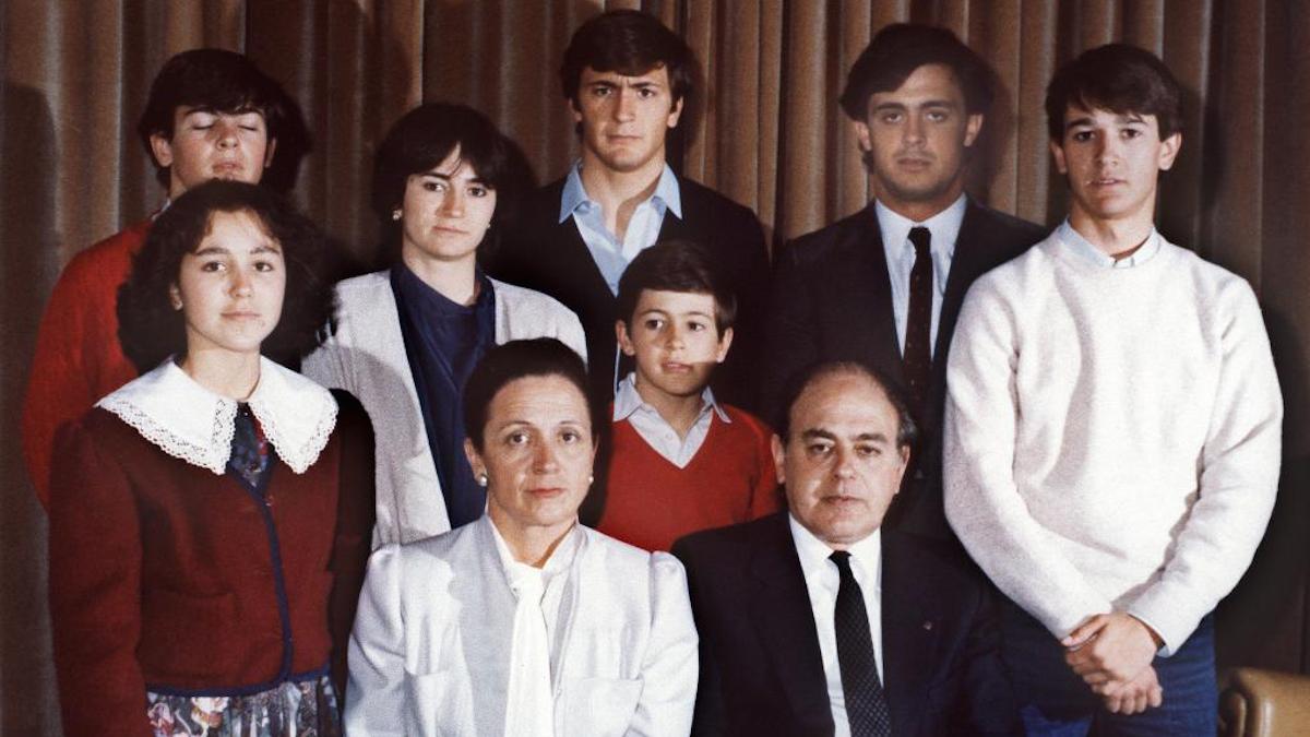 Familia Pujol Ferrusola.