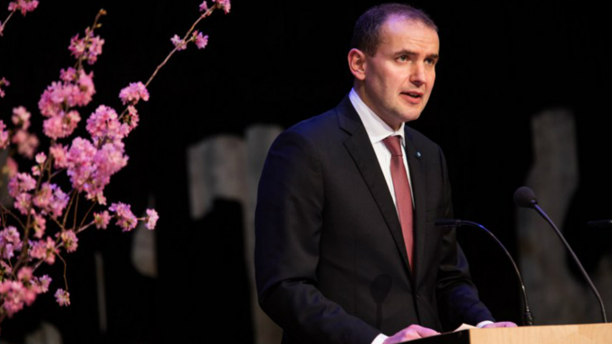 El presidente de Islandis Gudni Johannesson. Foto: AFP