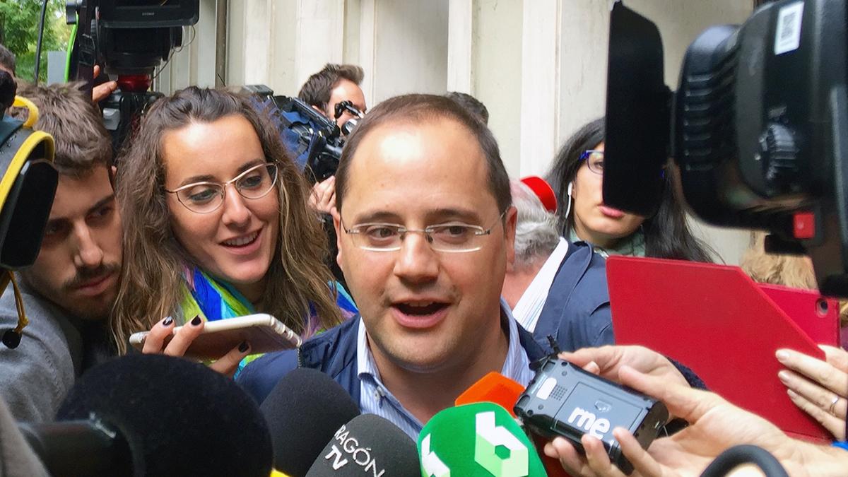 César Luena. (Foto: Enrique Falcón)