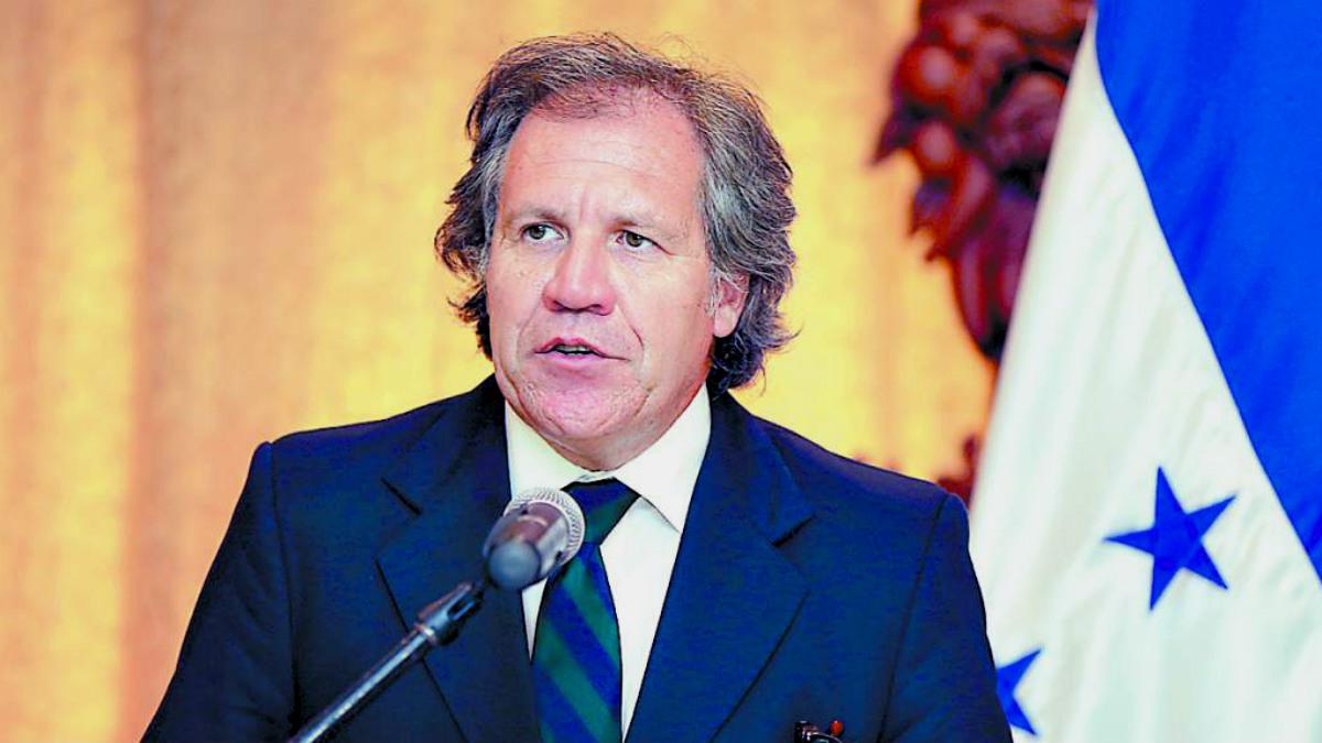 Luis Almagro, secretario de la Organización de Estados Americanos (OEA).