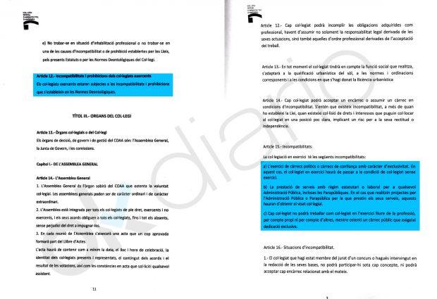 Un informe del caso BPA recoge un pago como arquitecto al presidente de Andorra de 344.673 €