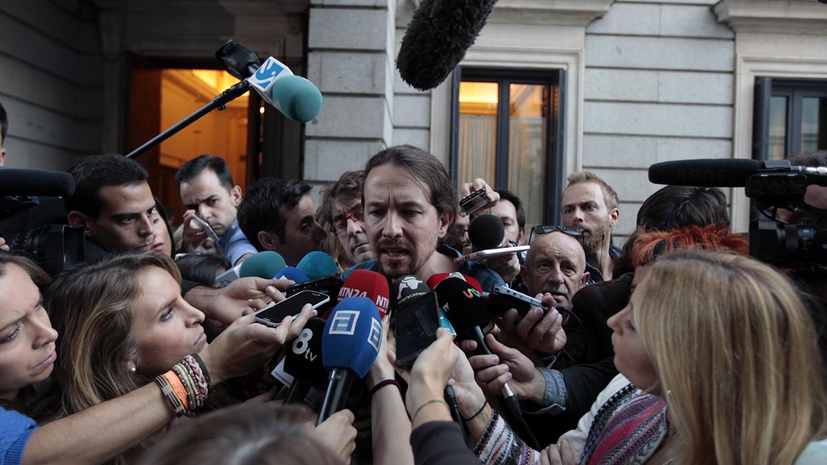 Pablo Iglesias. (Foto: Okdiario)