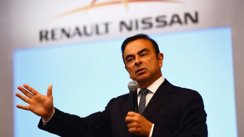 Carlos Ghosn, presidente de Renault-Nissan-Mitsubishi (Foto: Getty)