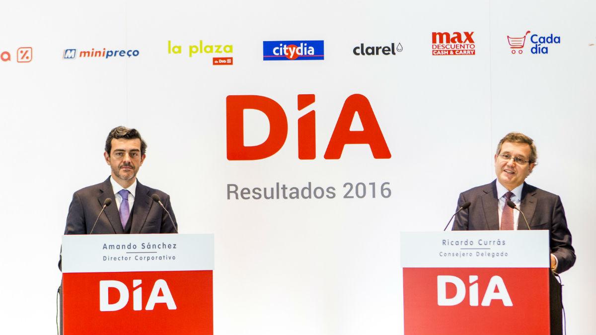 Ricardo Currás, ex consejero delegado de Grupo DIA, y Amando Sánchez, ex director corporativo de Grupo DIA