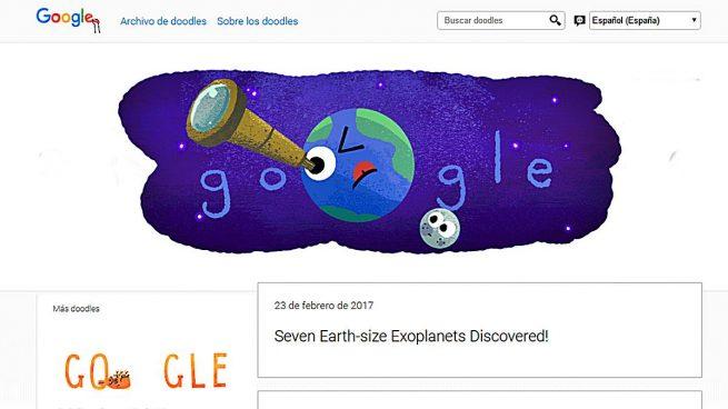 Doodle Google: Explanetas