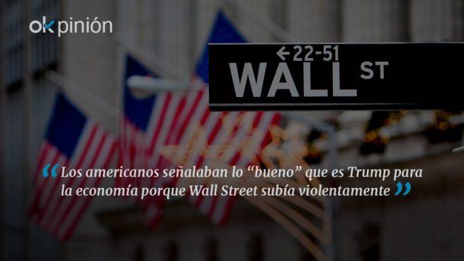Trump y el espejismo de Wall Street