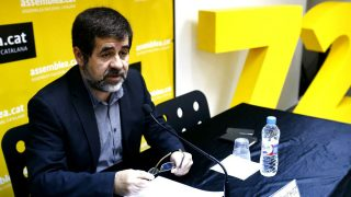 El presidente de la Asamblea Nacional Catalana (ANC), Jordi Sánchez (Foto: EFE)