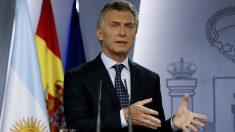 El presidente de Argentina, Mauricio Macri. (Foto: EFE/Mariscal)
