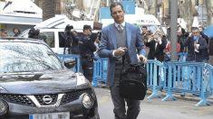 Iñaki Urdangarin a su llegada a la Audiencia de Palma. (Foto: EFE)