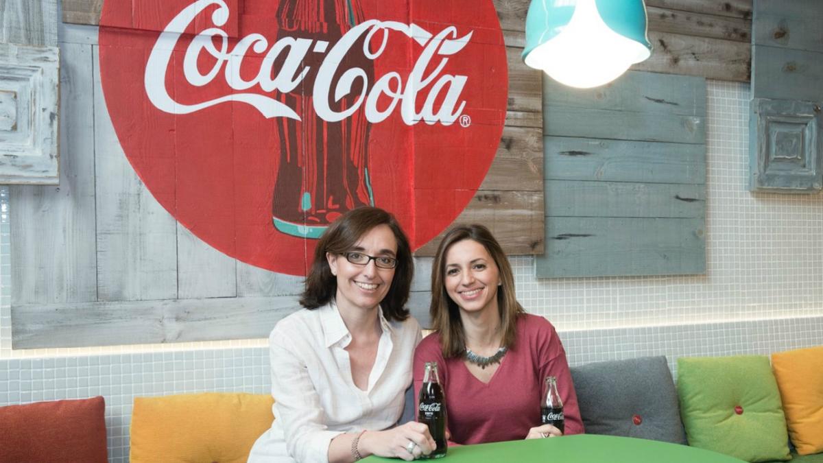 Ana Gascón y Ana Callol, Directoras de Responsabilidad Corporativa en Coca-Cola.