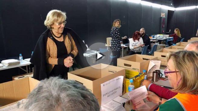 El resultado de las urnas de Carmena se retrasa una semana por no digitalizar el recuento