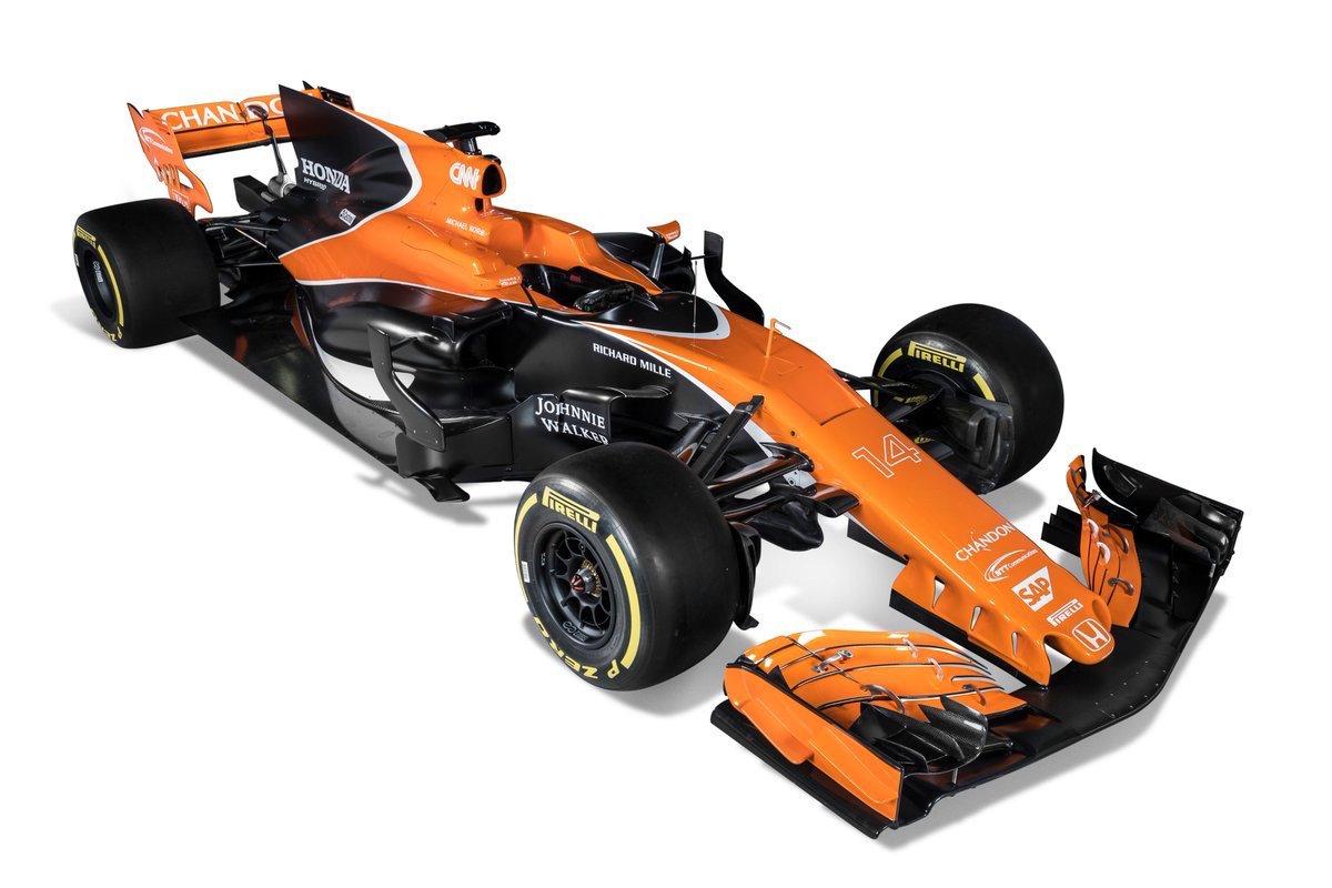 Este es el nuevo McLaren-Honda de Fernando Alonso (McLaren)
